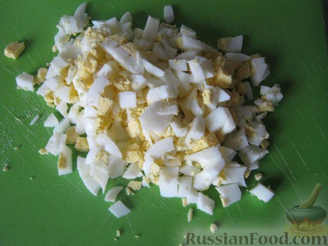 Фото приготовления рецепта: Тыквенная запеканка на сковороде - шаг №3