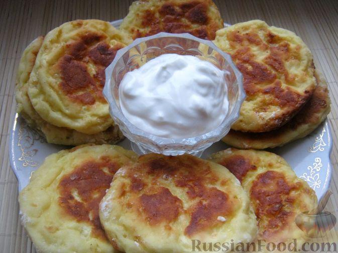 Рецепт Сырники, запеченные в духовке