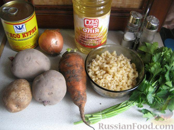 вкусный суп из тушенки рецепты с фото