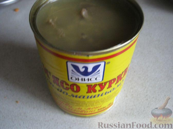 """Фото приготовления рецепта: Суп из тушенки """"20 минут"""" - шаг №8"""