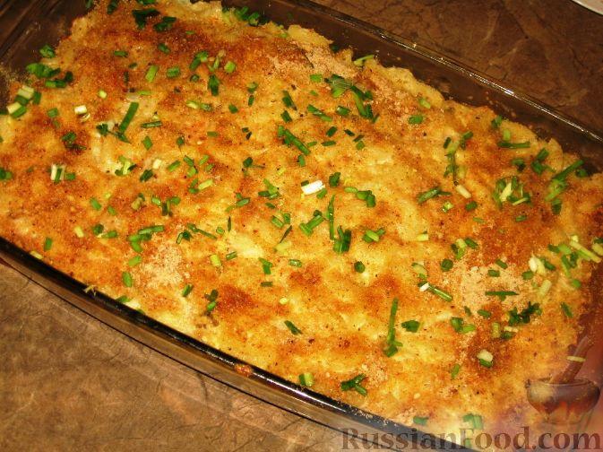 рецепт макароны с яйцами в духовке рецепт с фото