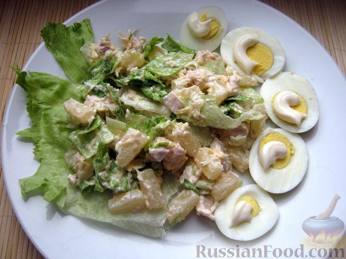 курица под шубой рецепт с фото салат