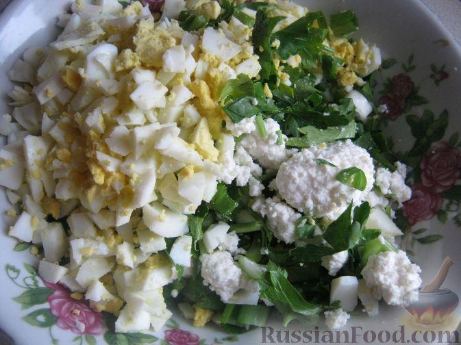 Фото приготовления рецепта: Новогодний салат «Календарь» - шаг №12