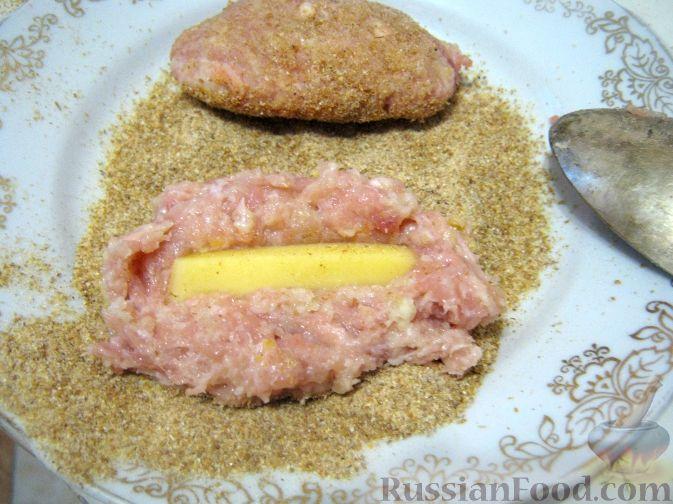 котлета с сыром внутри рецепт с фото