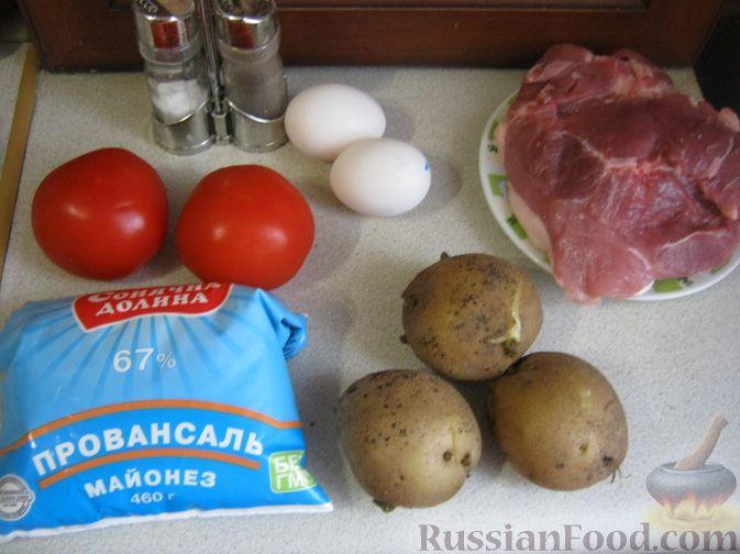 салат мясной рецепт простой