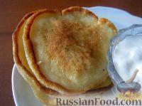 Фото к рецепту: Оладушки на завтрак