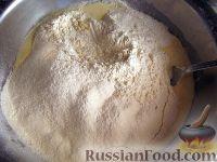 Фото приготовления рецепта: Бездрожжевое тесто для пиццы - шаг №7
