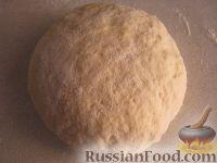 Фото приготовления рецепта: Бездрожжевое тесто для пиццы - шаг №9
