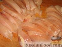 Фото приготовления рецепта: Куриный беф-строганов - шаг №2