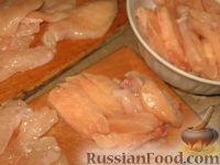 Фото приготовления рецепта: Куриный беф-строганов - шаг №3