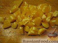 """Фото приготовления рецепта: Салат фруктовый """"Лямур"""" - шаг №4"""