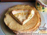 Фото к рецепту: Креативный рецепт блинов