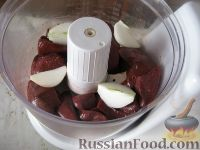 Фото приготовления рецепта: Котлеты из говяжьей печени - шаг №4