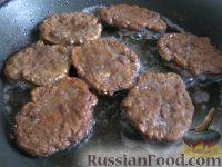 Фото приготовления рецепта: Котлеты из говяжьей печени - шаг №9