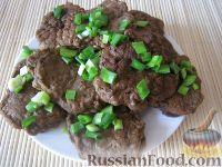Фото приготовления рецепта: Котлеты из говяжьей печени - шаг №11