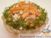 Фото к рецепту: Салат из креветок