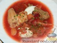 Фото к рецепту: Борщ по-венгерски