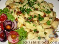 Фото к рецепту: Палюшки - картофельные галушки