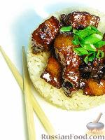 Фото к рецепту: Красная свинина - Хуншао
