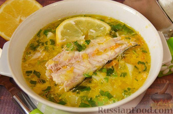 Фото к рецепту: Суп из скумбрии с картофелем и рисом