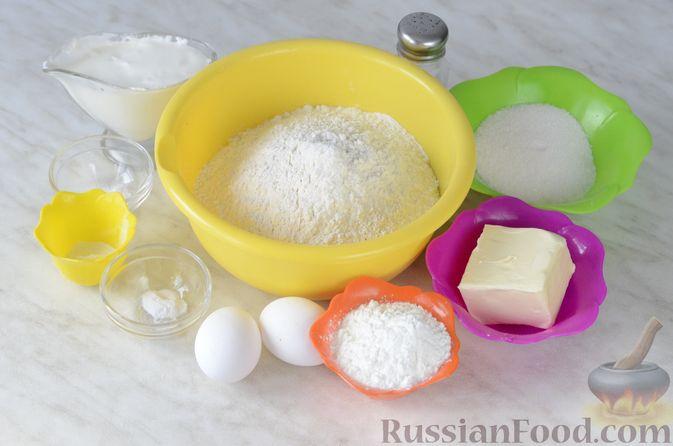 Фото приготовления рецепта: Сметанное желе с бананом и какао - шаг №15