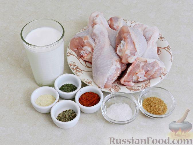Фото приготовления рецепта: Свиные рёбрышки с розмарином, чесноком и мёдом, запечённые с картофелем (в духовке) - шаг №5