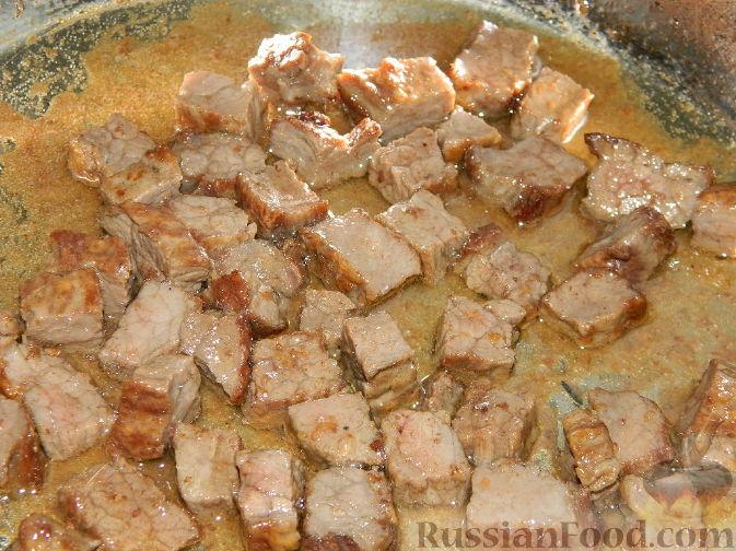 Фото приготовления рецепта: Куриная печень, тушенная с ананасами и сметаной - шаг №1