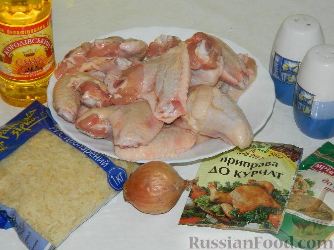 рецепт из крылышек куриных в духовке пошаговый фото рецепт