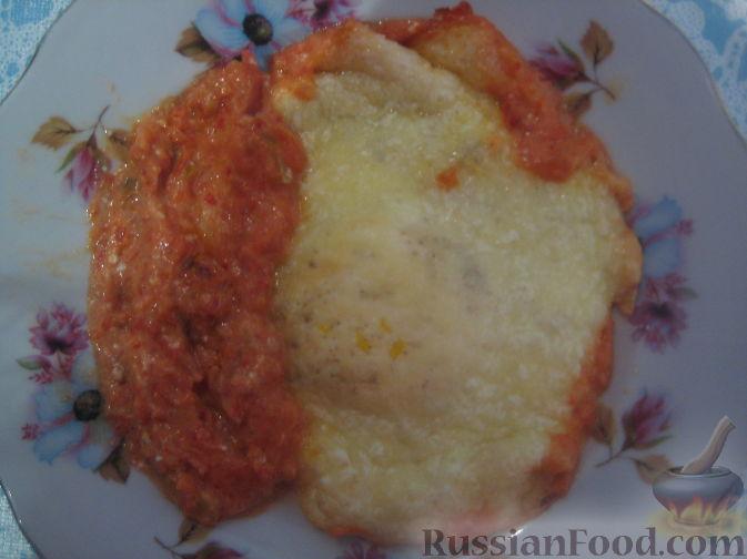 Рецепт Запеченное яйцо в соусе