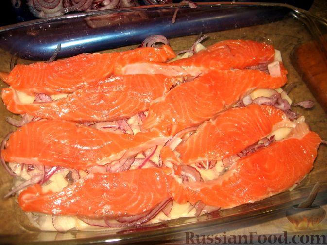 Фото приготовления рецепта: Слойки-конвертики с чечевицей, морковью и курагой - шаг №6