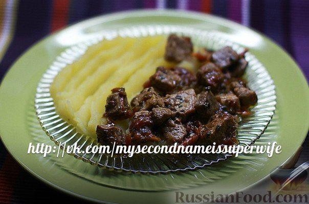 Рецепт Свинина с травами и морковью