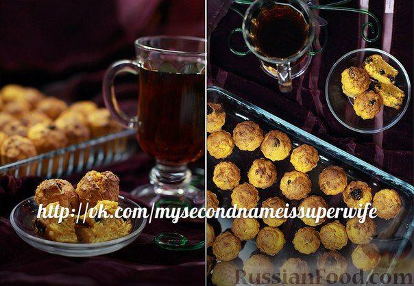 Рецепт Морковные маффины с изюмом