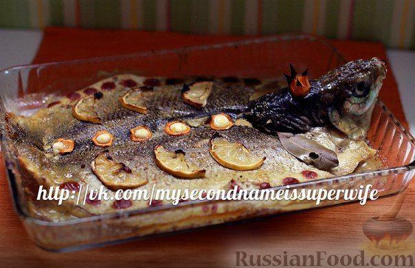 """Рецепт Запеченная в духовке рыбка """"Королевна"""""""