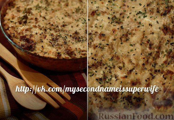 Рецепт Макаронная запеканка с фаршем