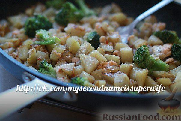 Быстрый рецепт рыбы с овощами