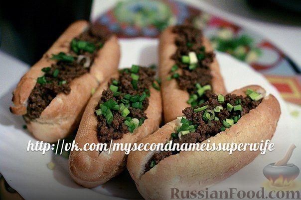 Рецепт Домашние хот-доги