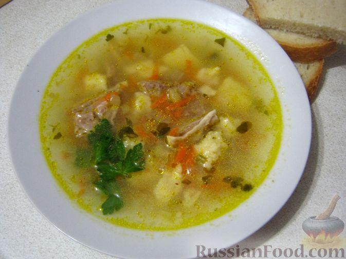 рецепт супа из свинины с макаронами