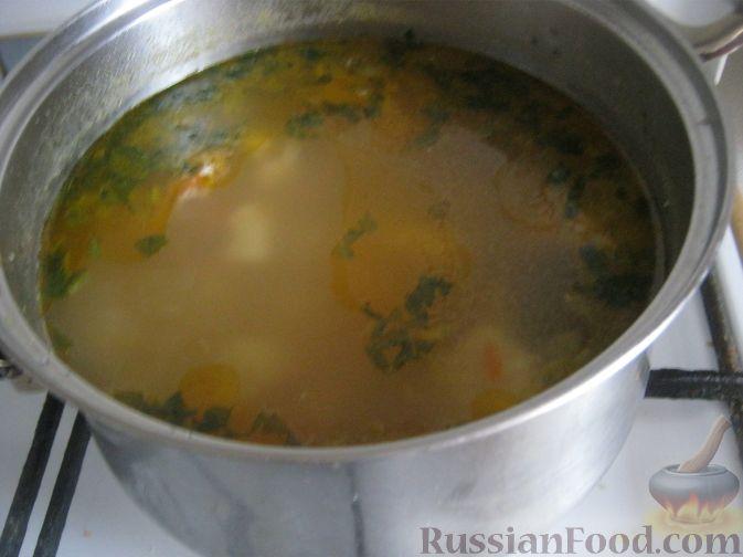 Говяжий суп с клецками рецепт с фото