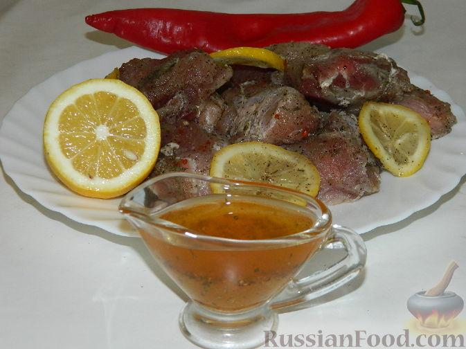 """Рецепт Маринад для шашлыка """"Ароматный"""""""