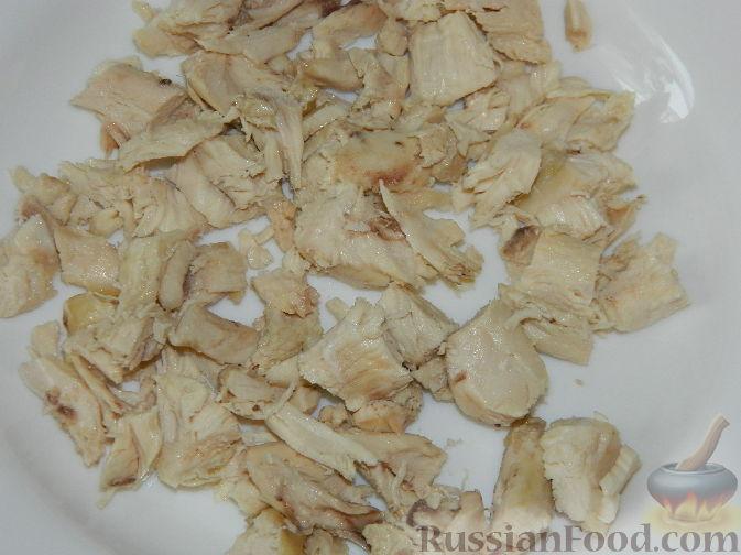 """Фото приготовления рецепта: Салат с яблоками """"О-ля-ля"""" - шаг №3"""