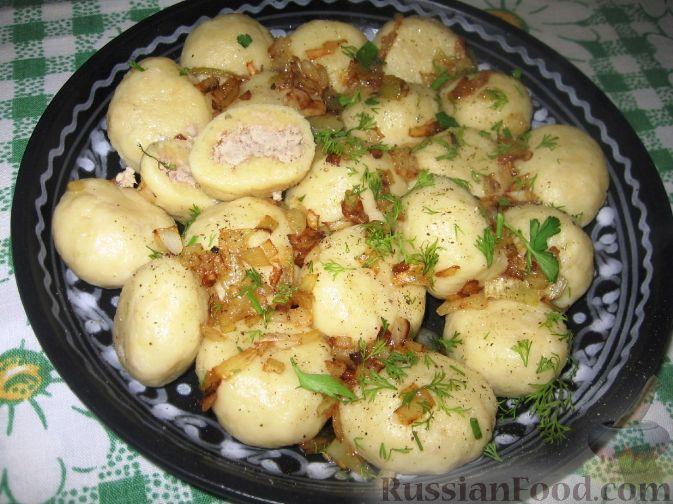 Рецепт Кнедли с мясом