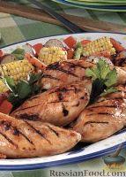 Фото к рецепту: Куриные грудки, приготовленные на гриле
