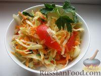 Фото к рецепту: Салат-гарнир к шашлыку