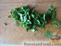 Фото приготовления рецепта: Простой  грибной суп из шампиньонов - шаг №11