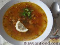 Фото к рецепту: Солянка с колбасой
