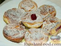 Фото к рецепту: Сырники в духовке