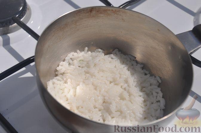Фото приготовления рецепта: Бисквит на апельсиновом соке - шаг №14