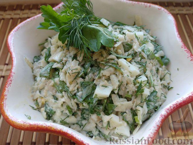 Фото к рецепту: Салат из топинамбура