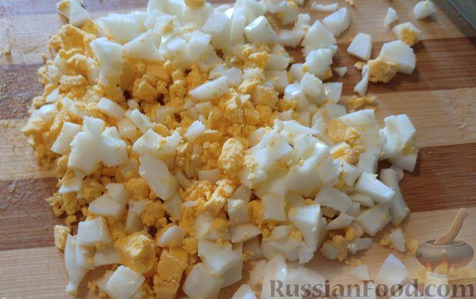 Фото приготовления рецепта: Салат из топинамбура - шаг №4