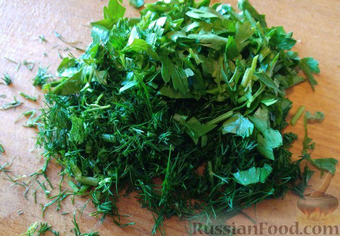 Фото приготовления рецепта: Салат из топинамбура - шаг №5